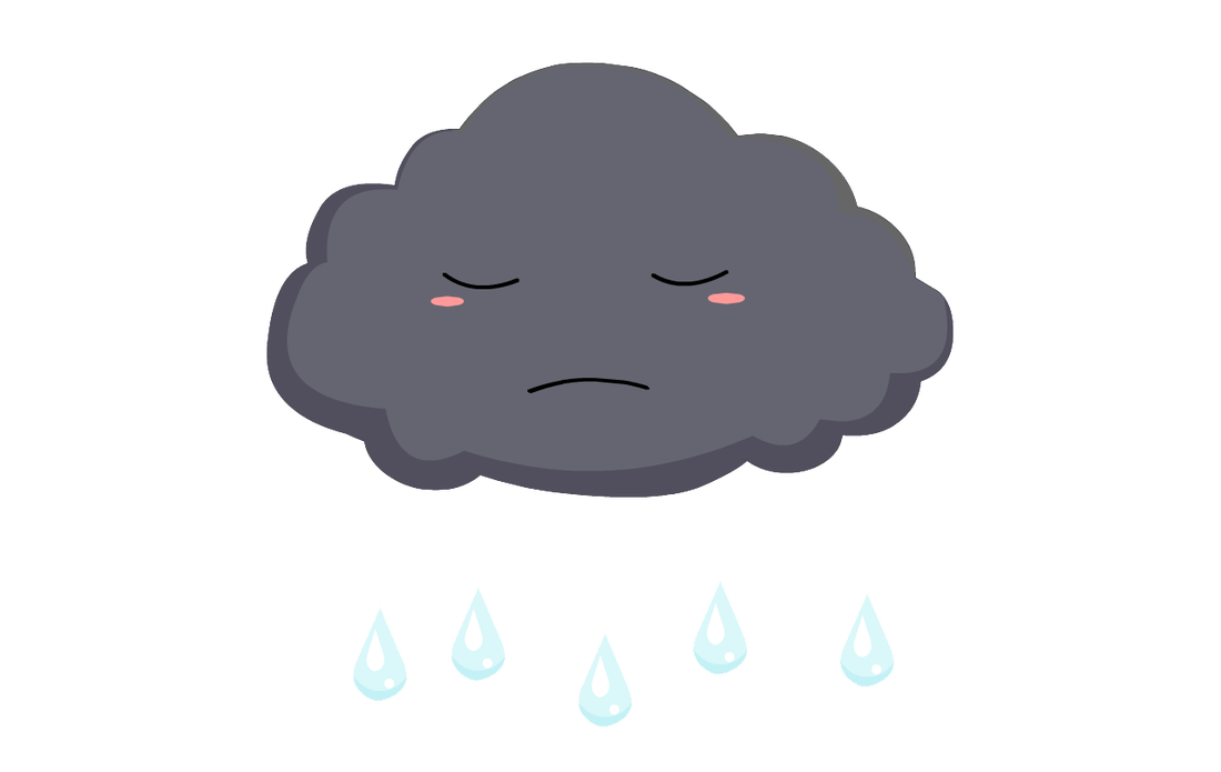 1100x695 Clouds Clipart Sad