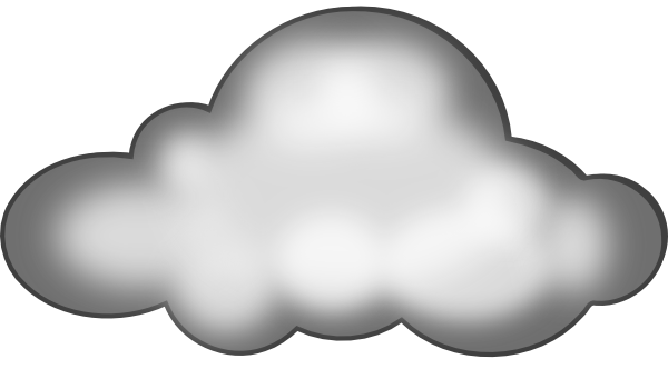 600x332 Free Cloud Clipart Image