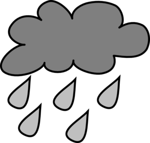 299x285 Rain Cloud Clip Art