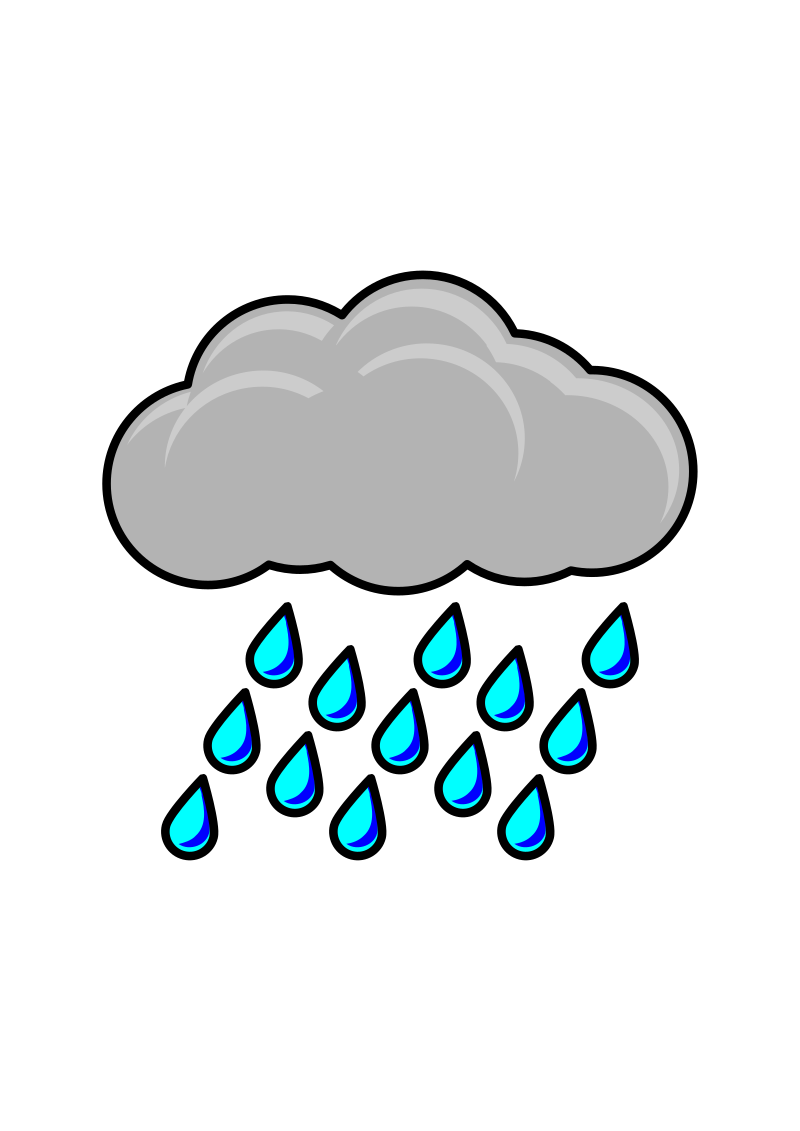 800x1131 Rain Clipart Animated