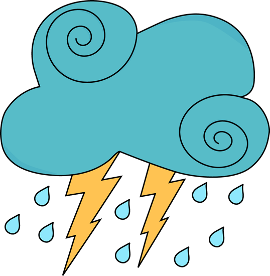 538x550 Rain Cloud Clipart 4