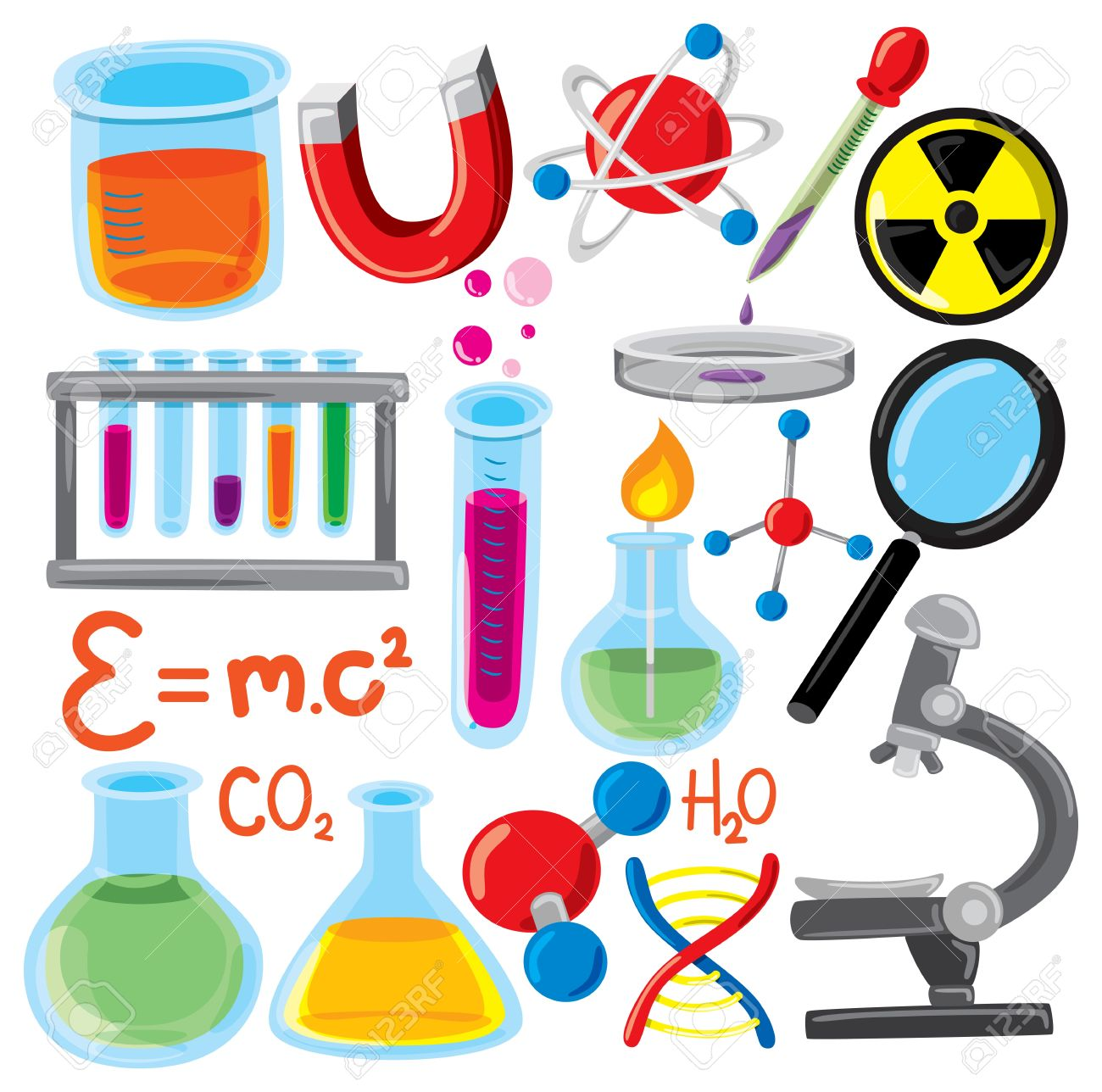 1300x1288 Radiation Clipart Science