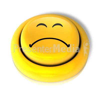 400x400 Smiley Face Sad Button