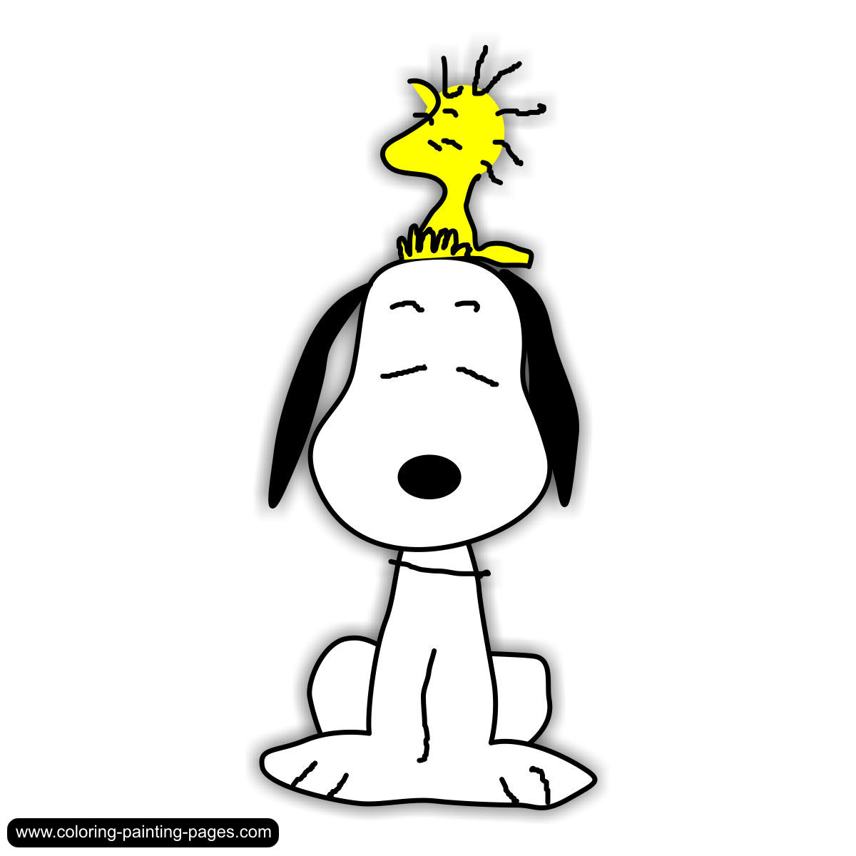 1200x1200 Clipart Free Snoopy