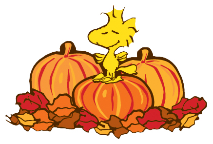 437x295 Peanuts thanksgiving clipart