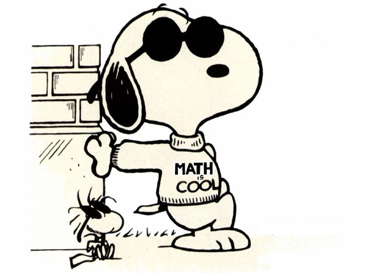736x552 Snoopy clipart math