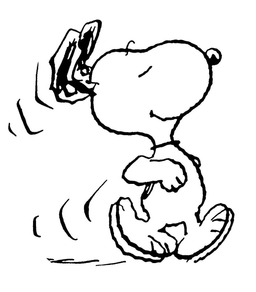 830x948 animated snoopy clipart