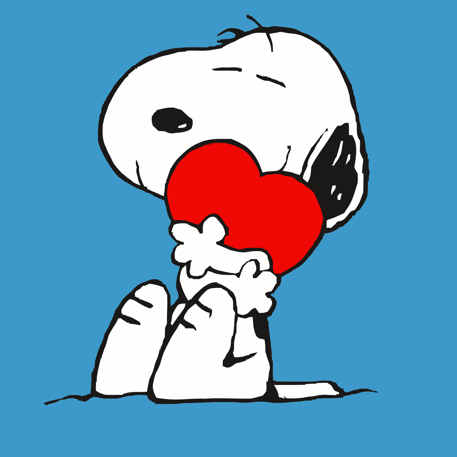 1600x1600 Animated snoopy valentine clipart