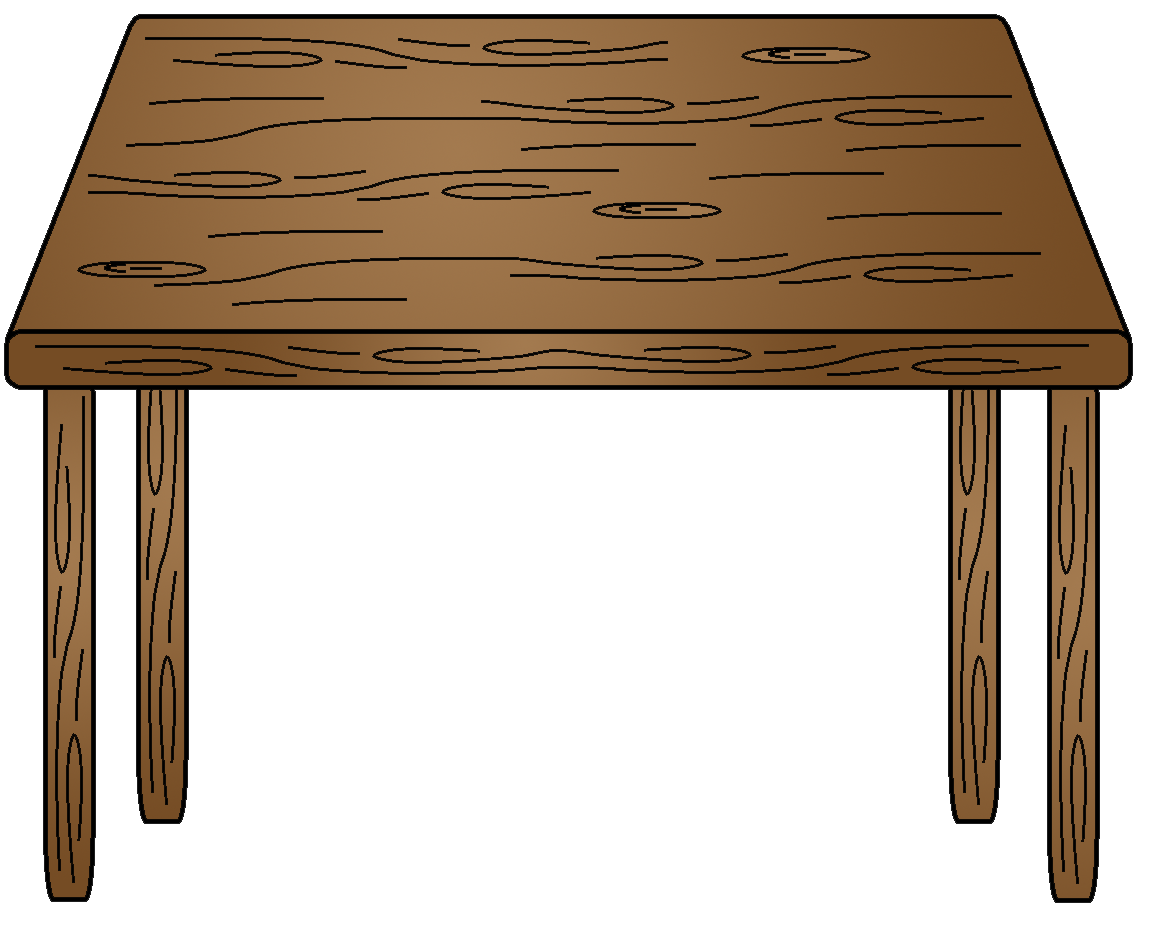 1152x927 Desk Clipart Transparent