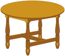 225x193 Table Clipart Animated
