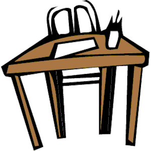 300x300 Clipart Tables And Chairs