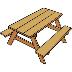300x300 Bench Clipart Animated