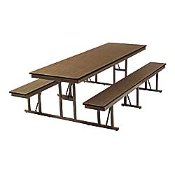 250x250 Cafeteria Tables, Lunch Room Tables, Ada Compliant