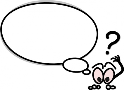 425x310 Thought Bubble Thought And Speech Bubbles Clip Art Image 3