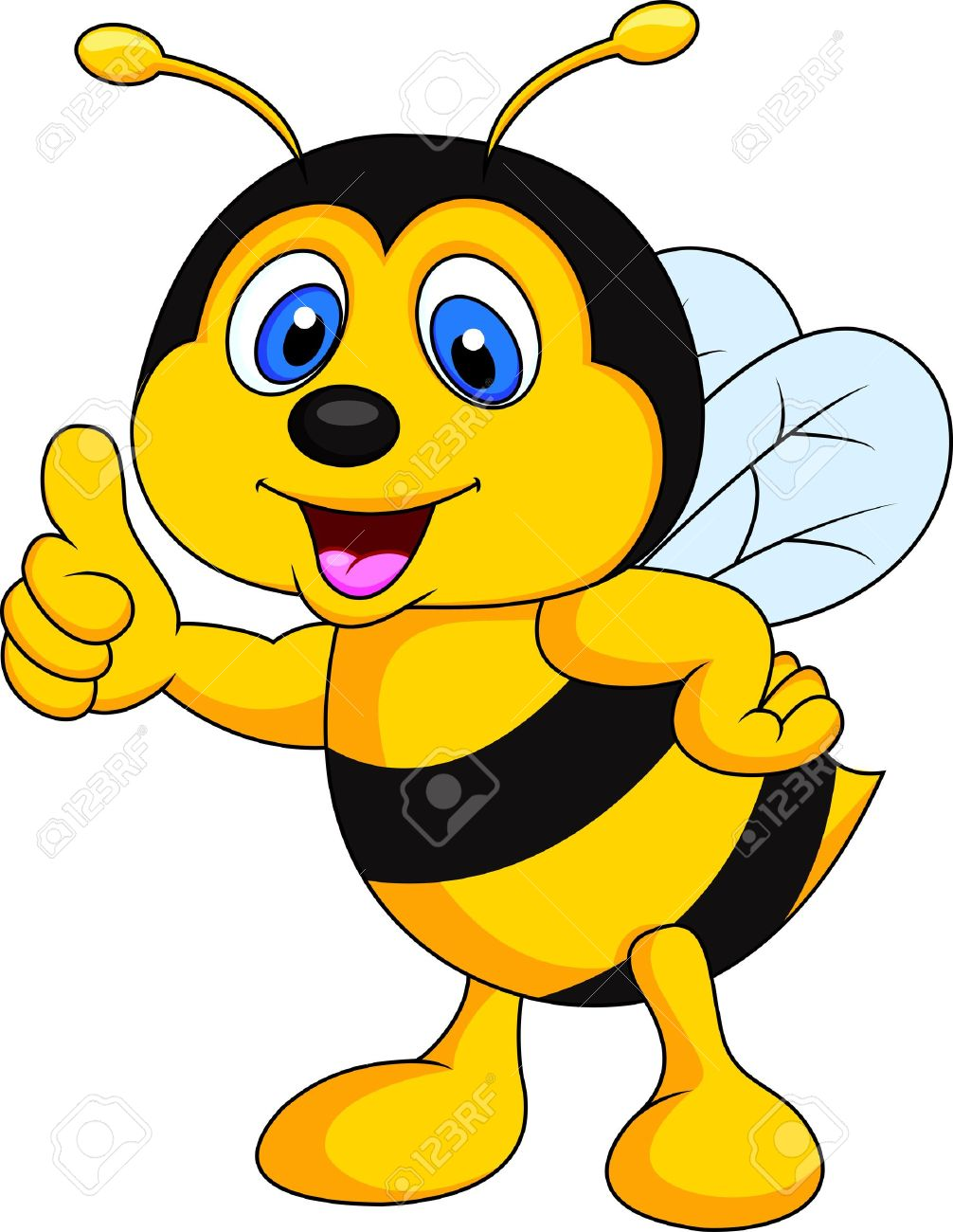 1006x1300 Bee Clipart Thumbs Up