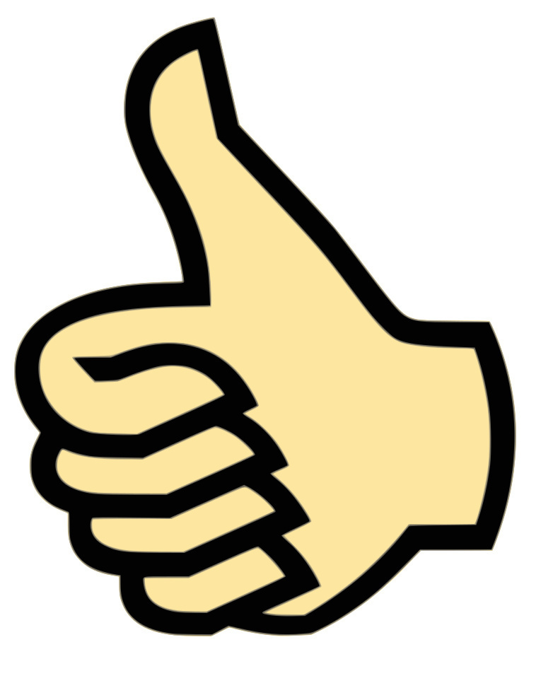 765x990 Thumbs Up Clipart Free Images