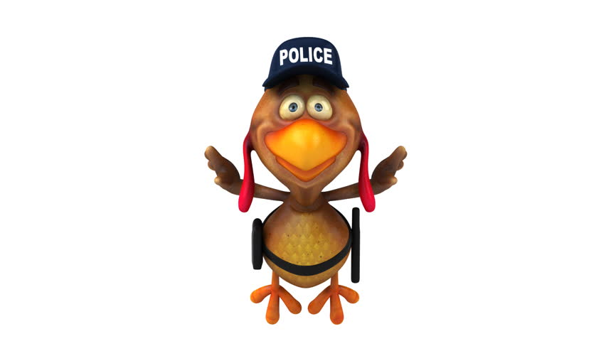 Funny Chicken Police: Free Download Best Animated