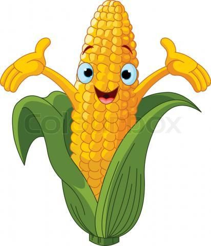 412x480 Cartoon Veggies Clipart
