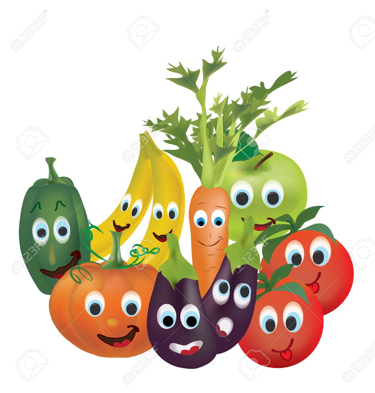 1241x1300 Illustration Collection Of Animated Fruits And Vegetables Tomatoes