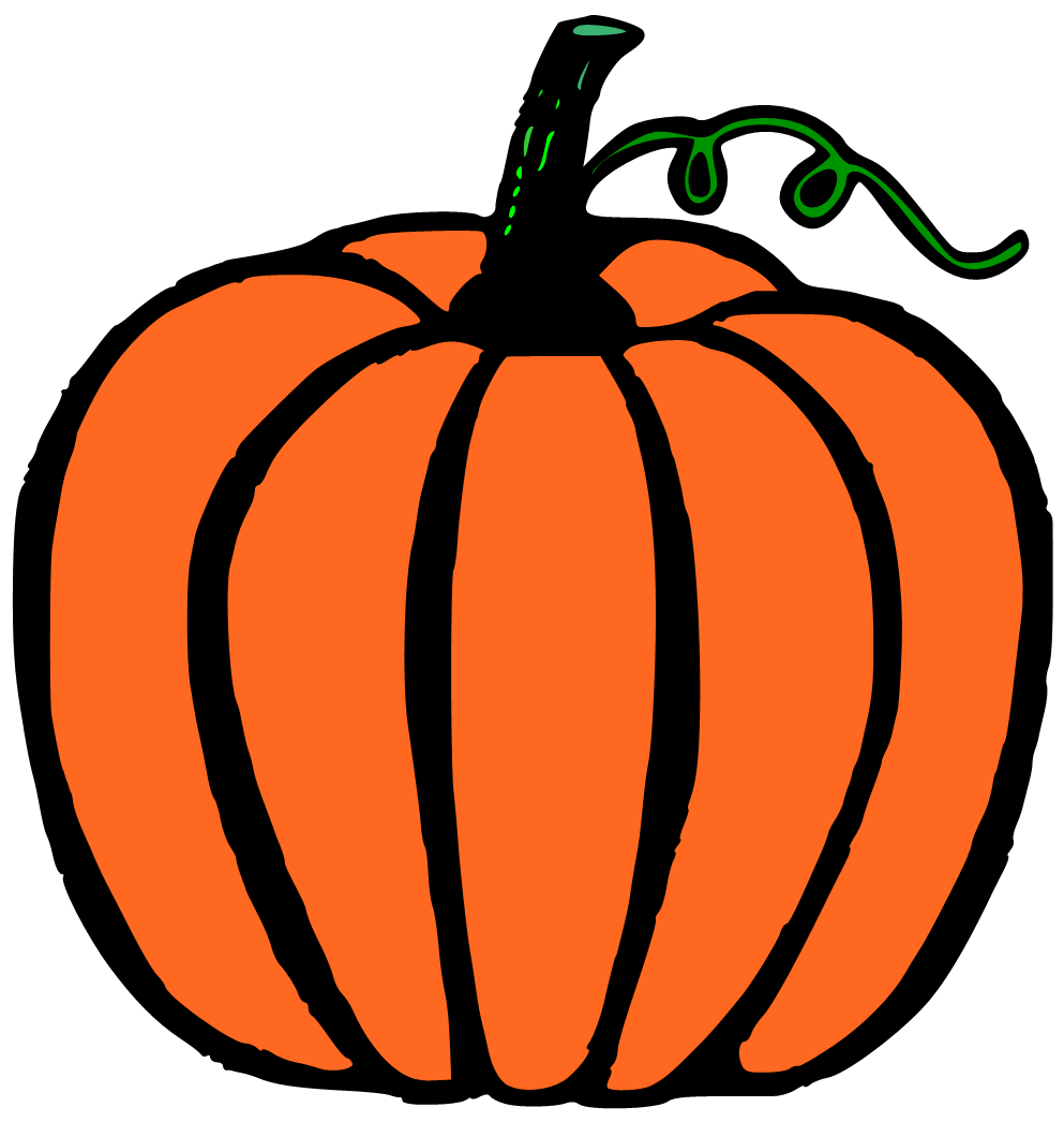 993x1046 Pumpkin Cartoon Clipart