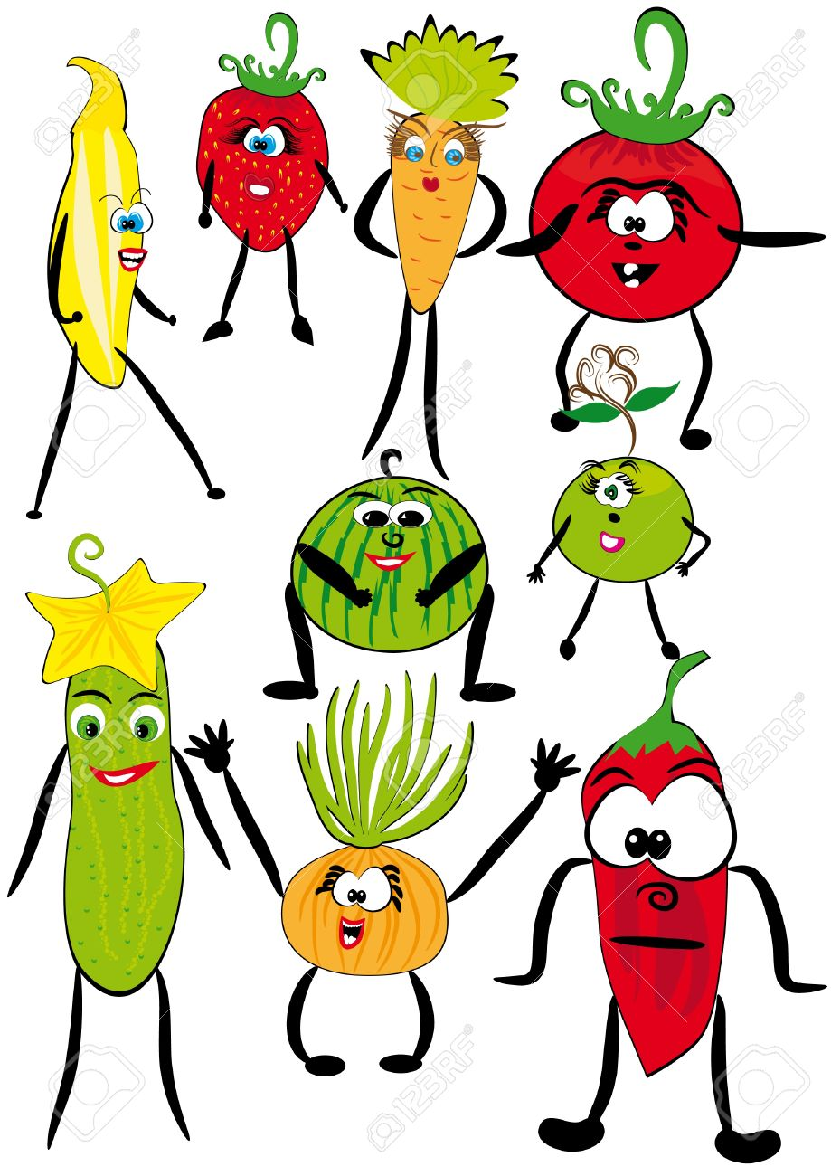 919x1300 Vegetables Clipart Animated