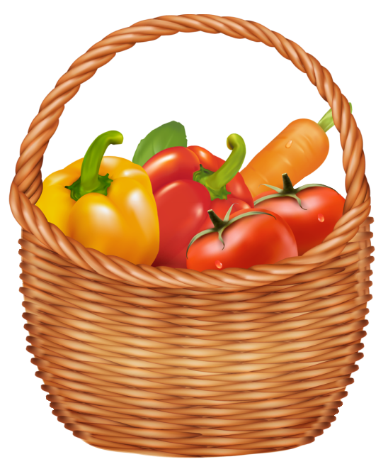 548x661 Basket Clipart Vegetable Basket