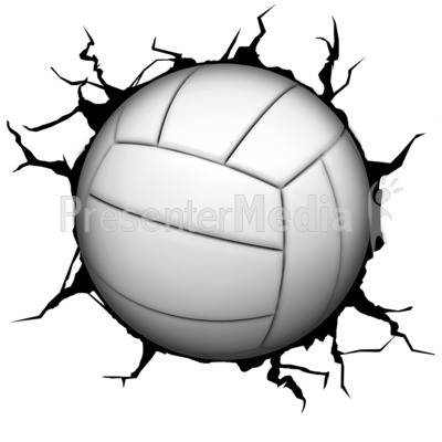 400x400 Crack Wall Volleyball