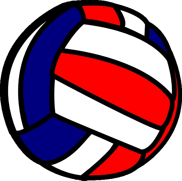 600x596 Volleyball clipart 2