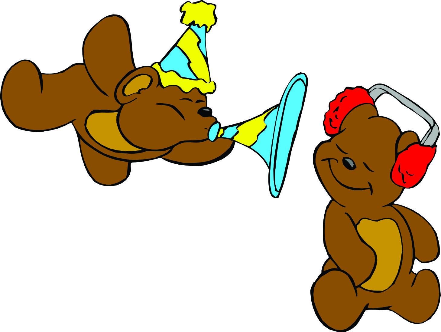 1459x1097 Bear Animated Birthday Clipart