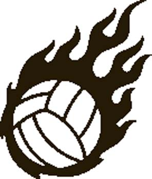 296x350 Free Volleyball Clipart Free Clipart Images Graphics Animated 2