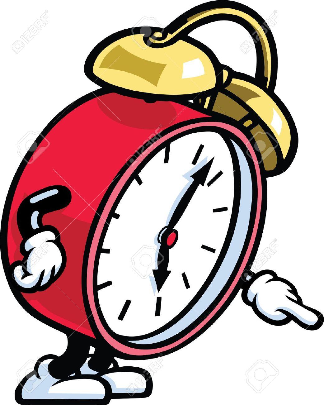 1041x1300 Animated Alarm Clock Clipart