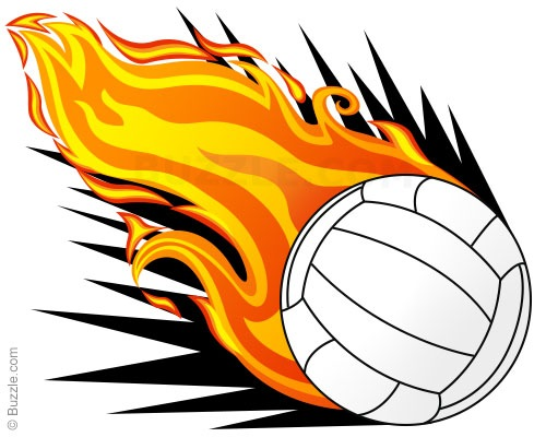 500x400 Animated Volleyball Clipart