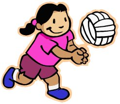 247x213 Gallery For Gt Animated Volleyball Clipart Teams