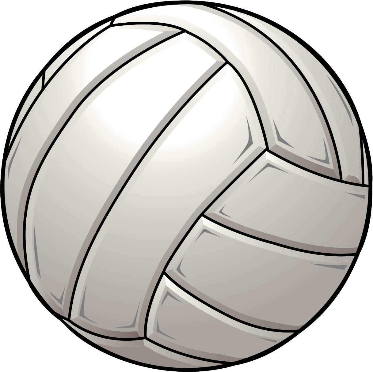 1217x1215 Volleyball Ball Clip Art