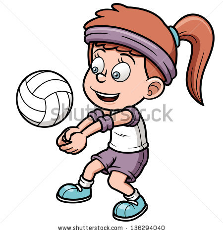 450x470 Animated Volleyball Clipart 101 Clip Art
