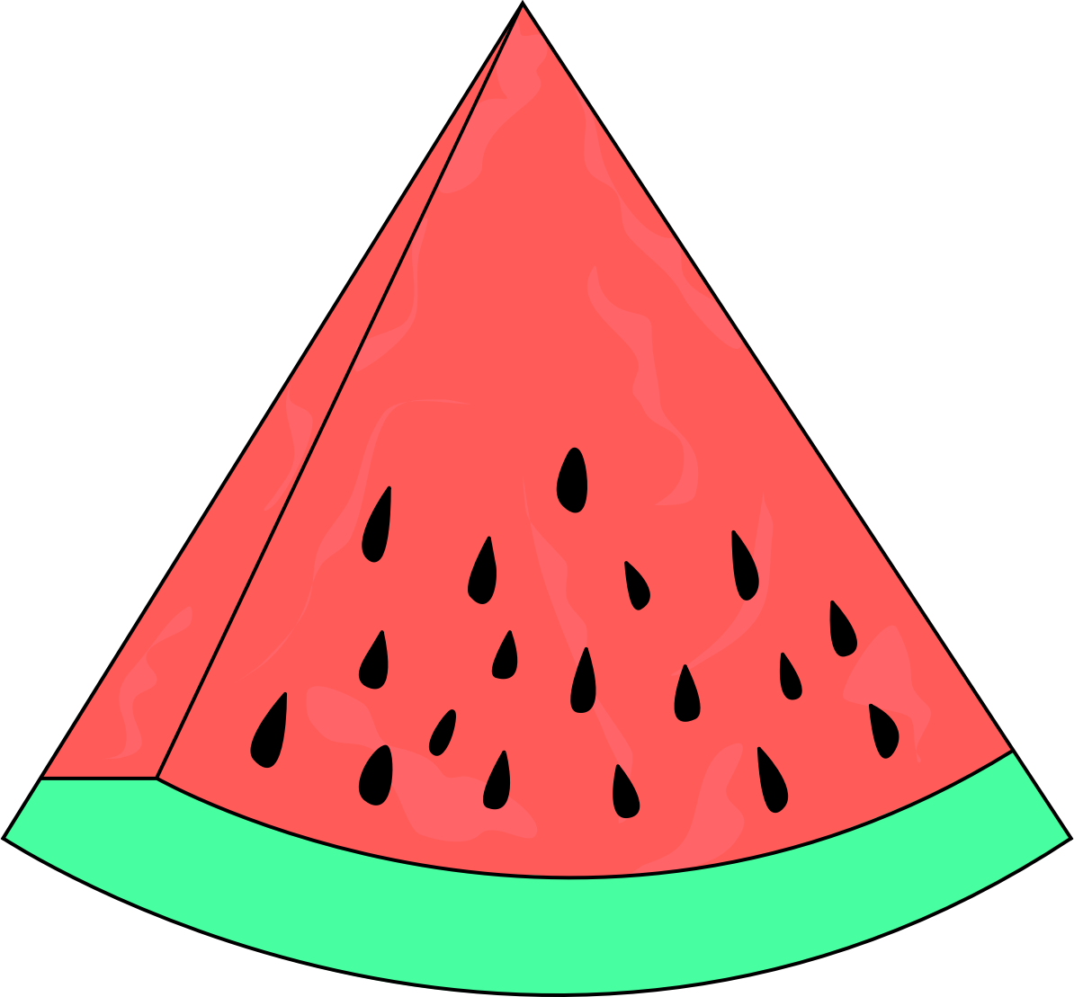 1194x1109 Drawing clipart watermelon