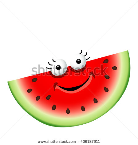 449x470 Drawn watermelon animated
