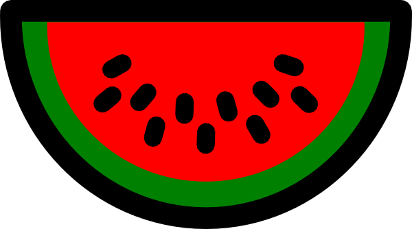 600x334 Watermelon Clip Art