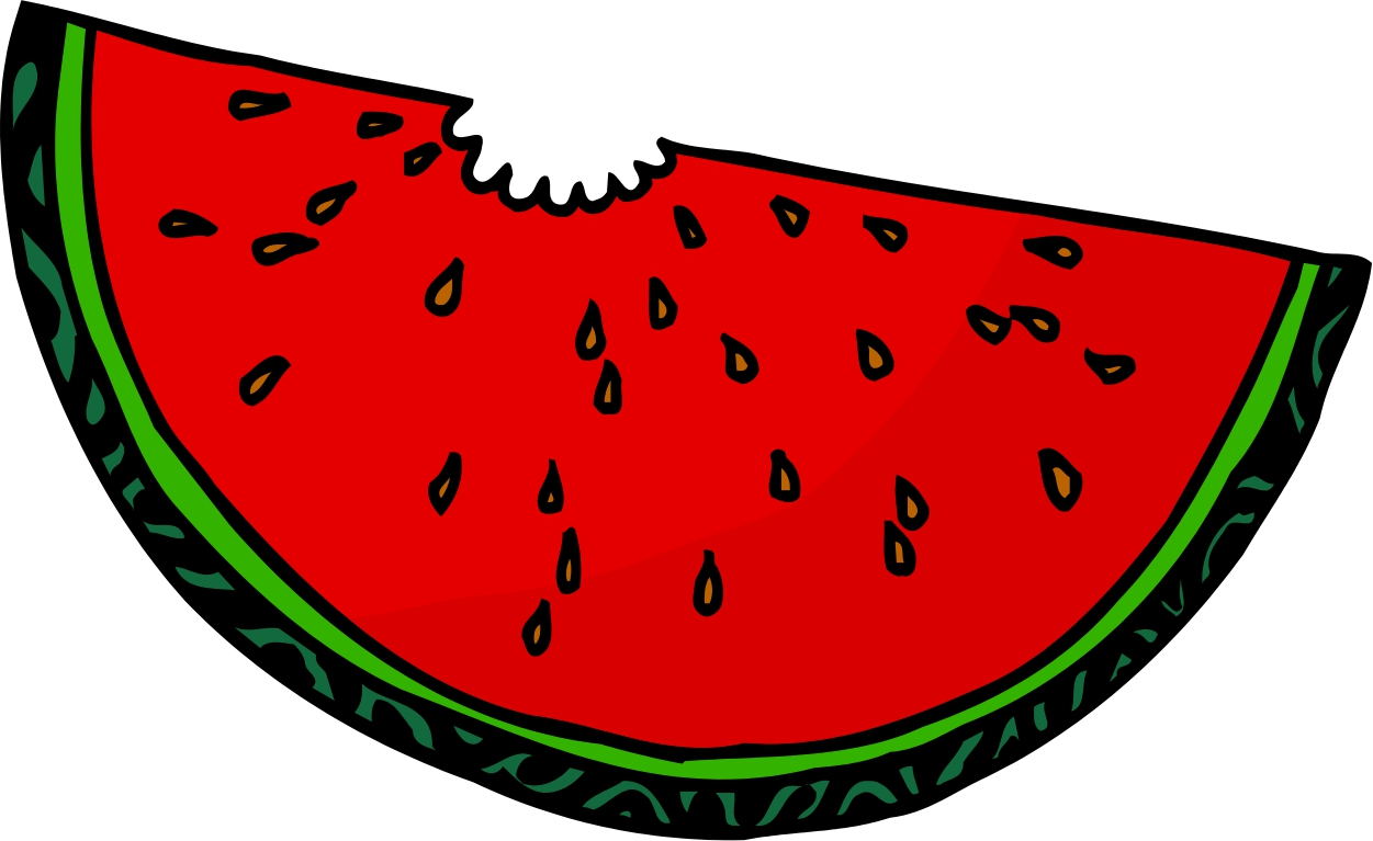 1251x767 Watermelon clipart animated