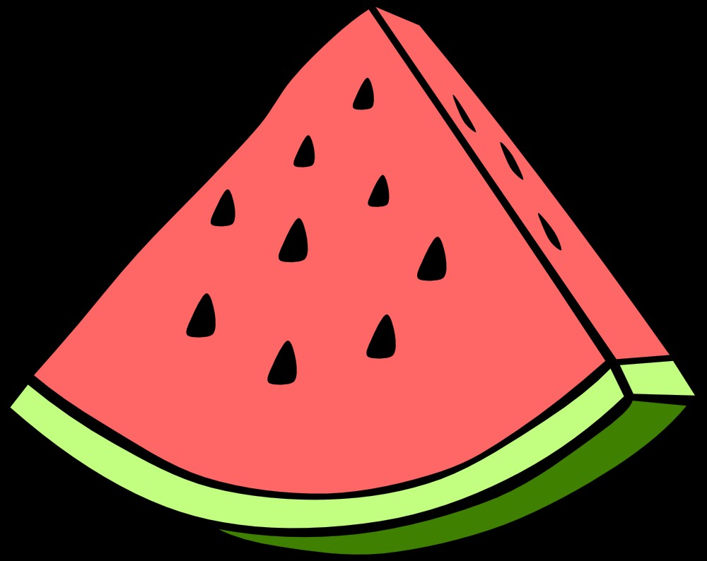 1000x794 Watermelon clipart full