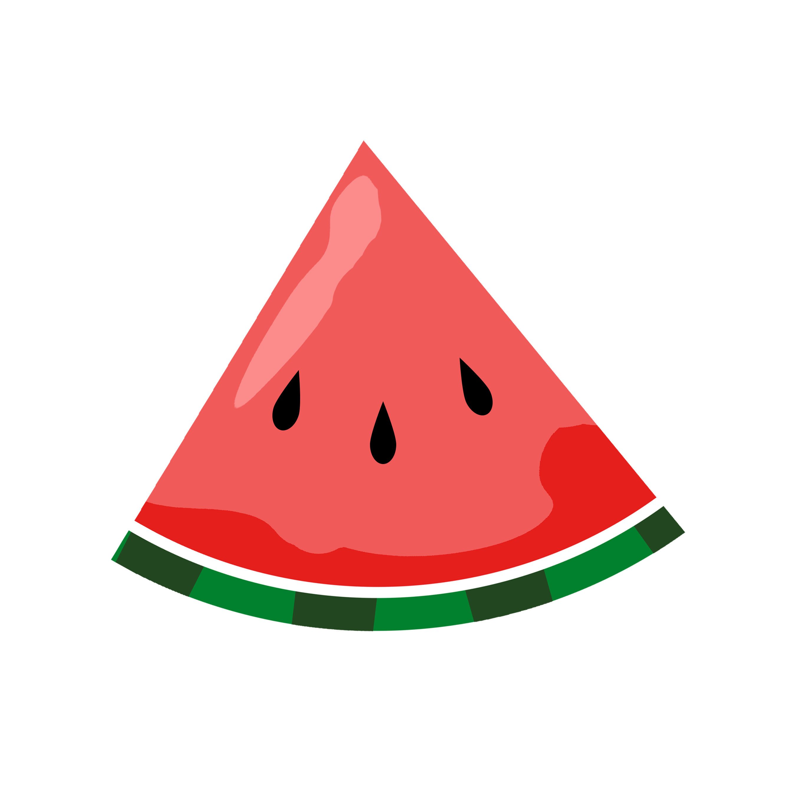 2700x2700 Animated Watermelon Clipart (47+)