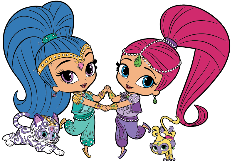 790x554 Shimmer And Shine Clipart Images