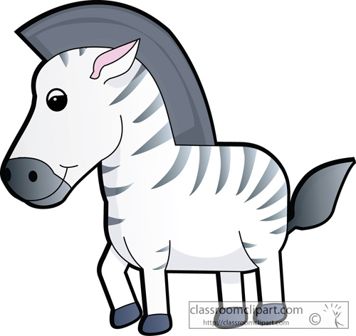 500x472 Free Zebra Clipart Clip Art Pictures Graphics Illustrations 4