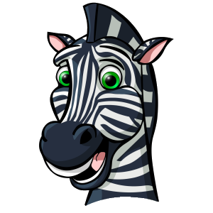 300x300 Zebra Cartoon Pictures