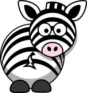 282x299 Zebra Clipart Animated