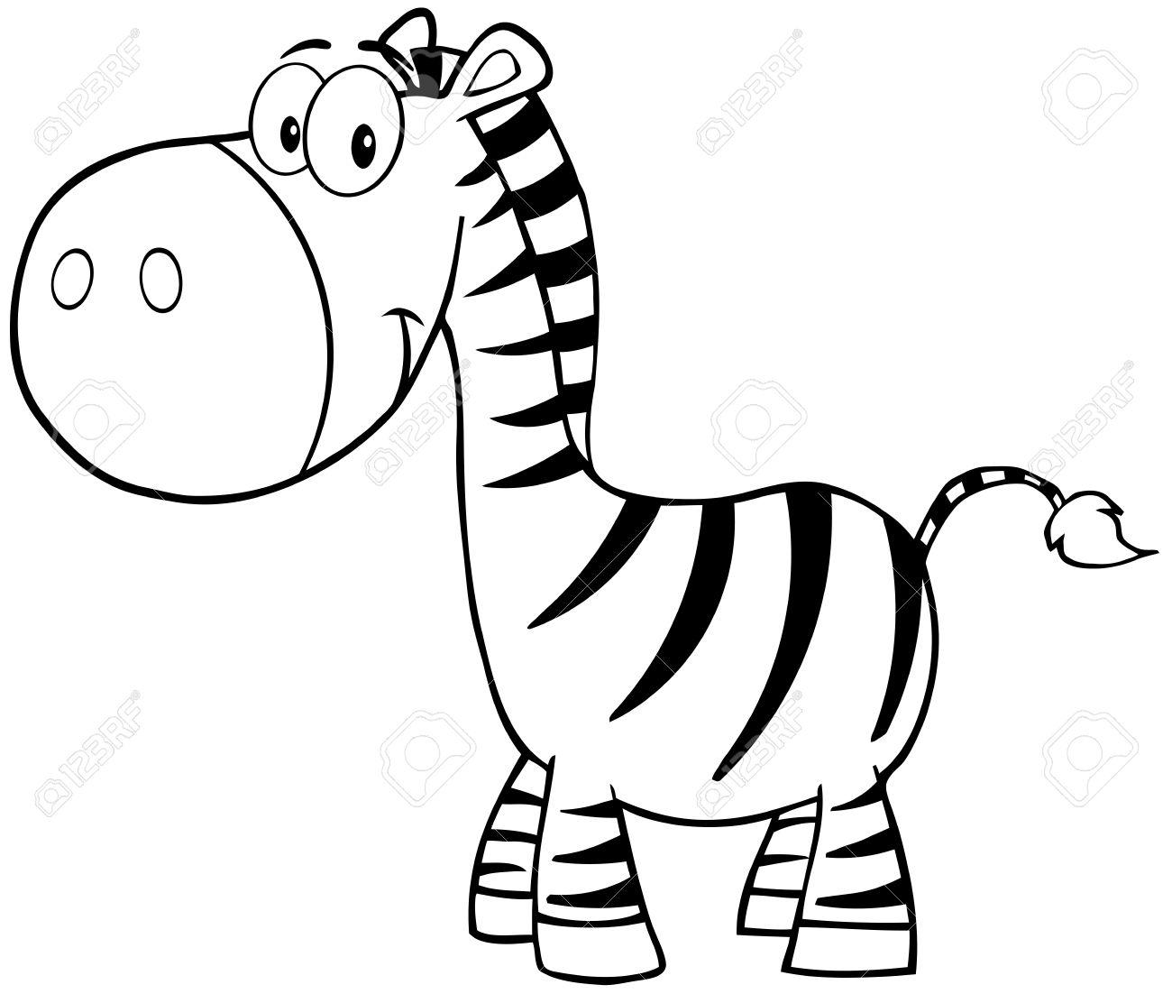 1300x1102 Zebra clipart mascot