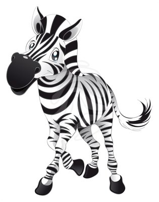 315x400 Zebra Clipart Two