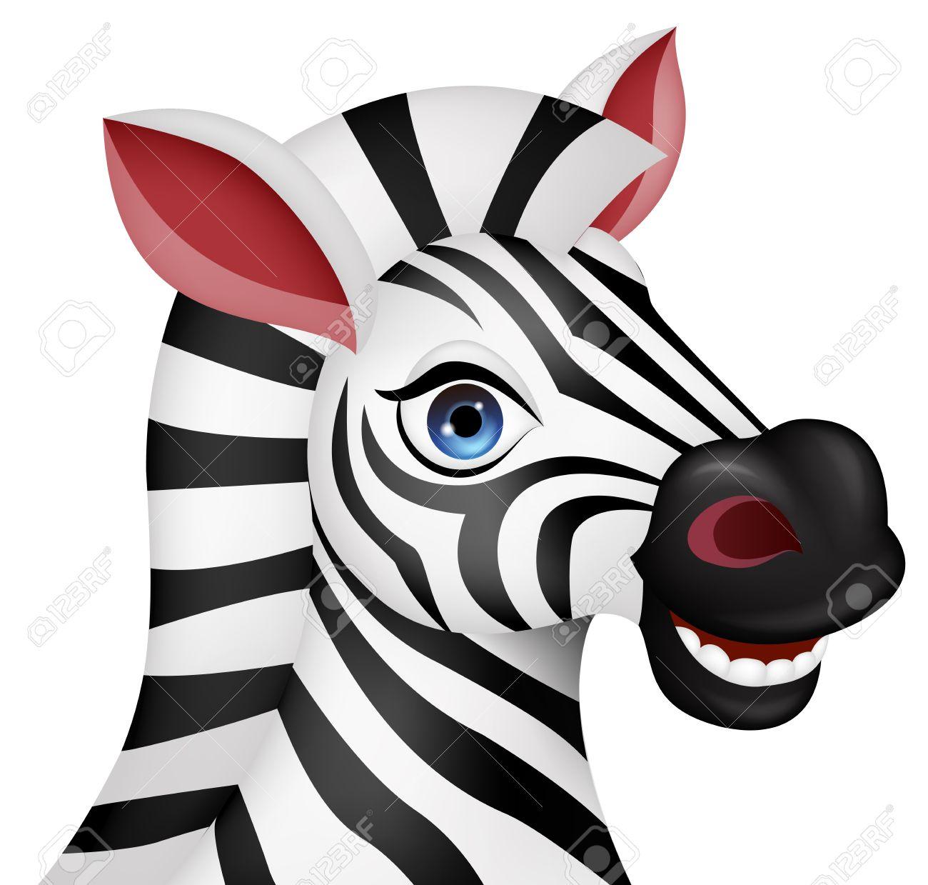 1300x1239 Zebra clipart zebra head
