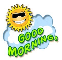 243x235 Free Animated Good Morning Image Animation Gifs On Pandagif Best