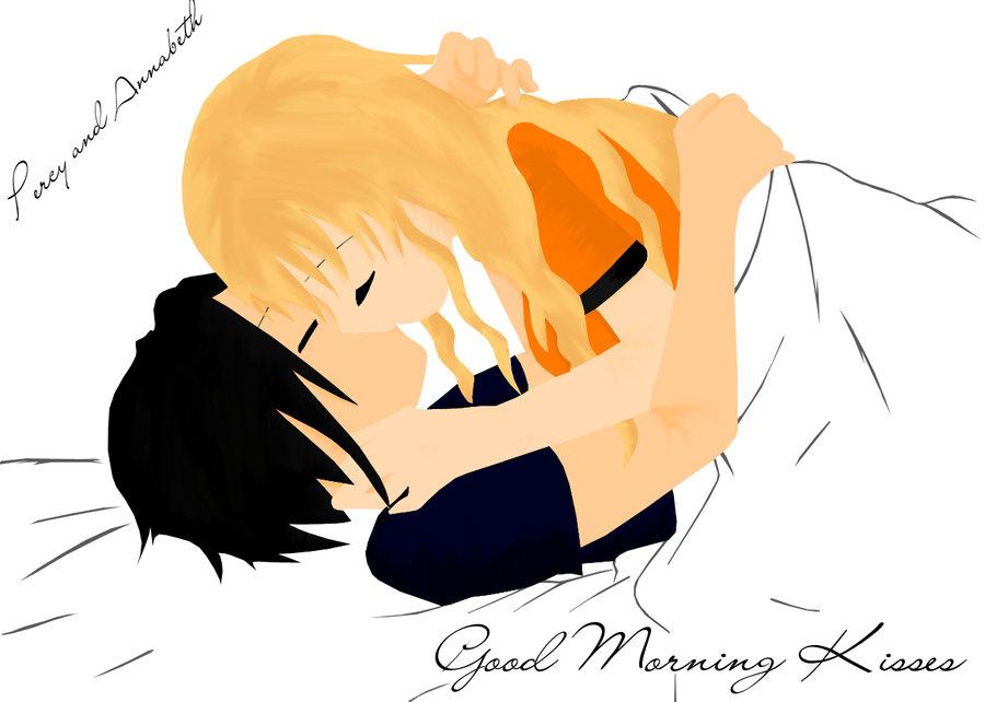 900x642 Good Morning Kisses By Littelangelkairi